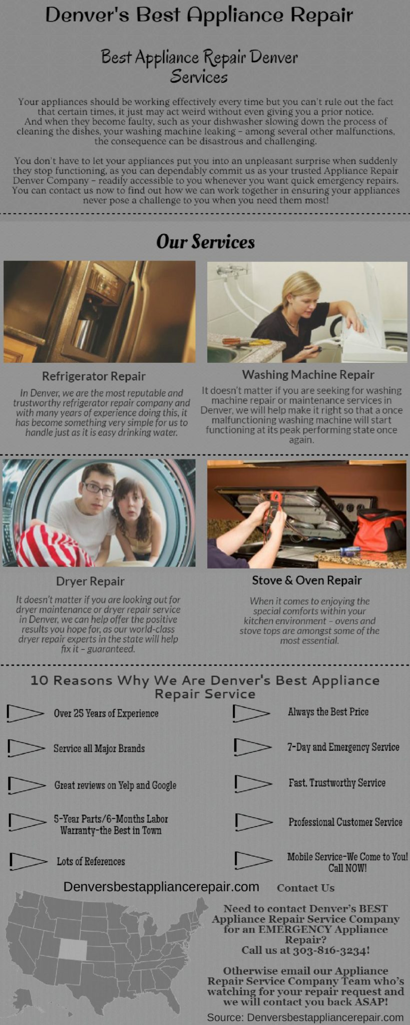 Appliance Repair Services in Denver